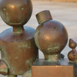 Sculture by Tom Otterness on Scheveningen beach
