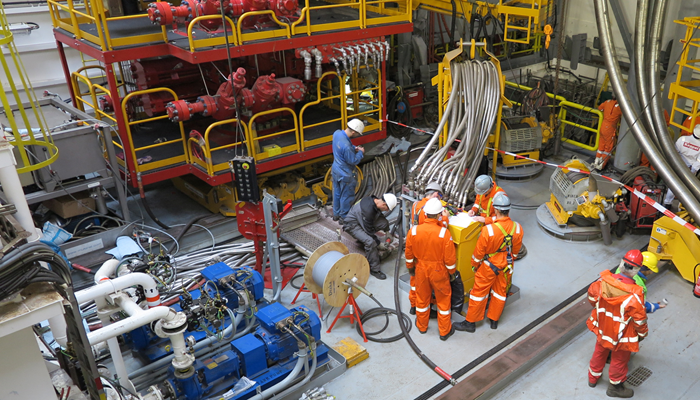 Rig floor, case studies