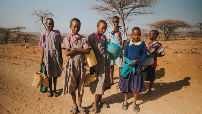 Children in Sware, Kenya.